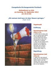 Gottesdienst-Programm als PDF - Kirchenkreis Obere Nahe