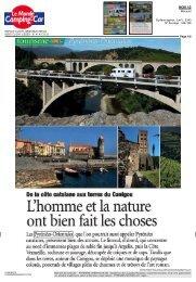 L'homme et la nature ont bien fait les choses - Tourisme Pyrénées ...