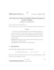 Sinc Function in Strip for Fredholm Integral Equation of the Second ...