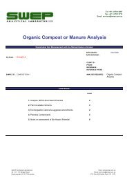 EXAMPLE Organic Compost - Swep