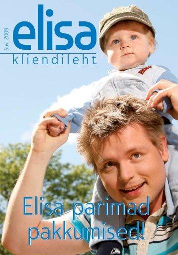 Elisa kliendileht, juuni 2009
