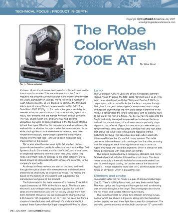 robe 600 led wash manual