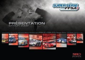 presentation super serie ffsa 2009