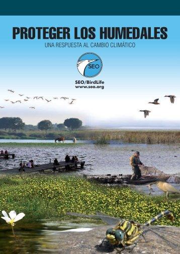 Proteger los humedales - UNA RESPUESTA AL ... - SEO/BirdLife