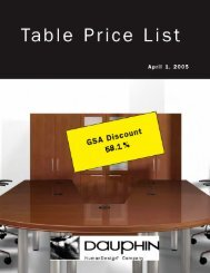 Table Price List.indd - Dauphin