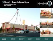 Wendy's - Corporate Ground Lease