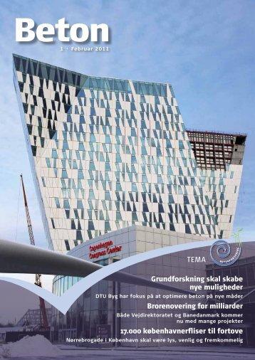 Grundforskning skal skabe nye muligheder ... - Dansk Beton