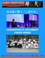 GLOBAL PERSPECTIVES   First Quarterly 2013 – Japan Edition