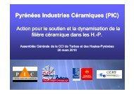 Pyrénées Industries Industries Céramiques (PIC ... - Tarbes-Infos