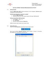 Nokia CDMA with Bluetooth Connection - Indosat