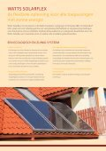 WATTS induSTrieS SOLAr SYSTeMS - Watts Industries Netherlands ... - Page 2