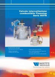 Valvole intercettazione combustibile Flamstop ... - WATTS industries