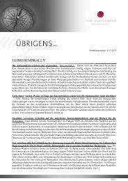 Newsletter vom 31. Dezember 2012 - TOP-Investment GmbH