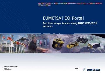 EUMETSAT datasets