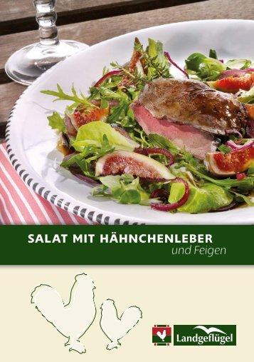 Salat mit HäHncHenleber und Feigen