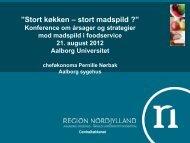 Pernille Nørbak - Menu - Aalborg Universitet