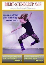 Laura's drøm bli'r virkelig - Sdr. Stenderup