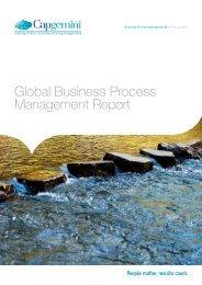 Global Business Process Management Report - Capgemini