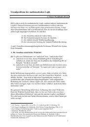 Grundprobleme der mathematischen Logik - Viktor Wolfgang ...