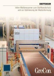 Inline-Mattenscanner zum Stahlbandschutz und zur ... - GreCon