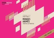 Mondes AniMés - Opéra Théâtre de Saint-Etienne