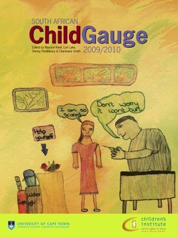 South African Child Gauge 2009/2010 - Children's Institute