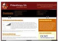 View PDF file - Philanthropy SA