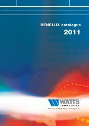 Catalogus 2011 - Watts Industries