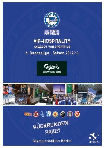 VIP–HosPItalIty - Hertha-VIP
