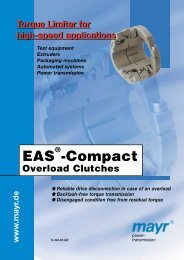 EAS®-Compact overload clutch