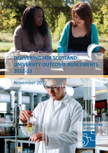 Outcome Agreements - Universities Scotland