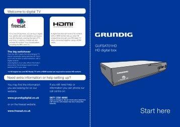 GUFSAT01HD Quick Start Guide