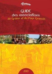 Guide des associations de Grasse et du pays grassois 2013