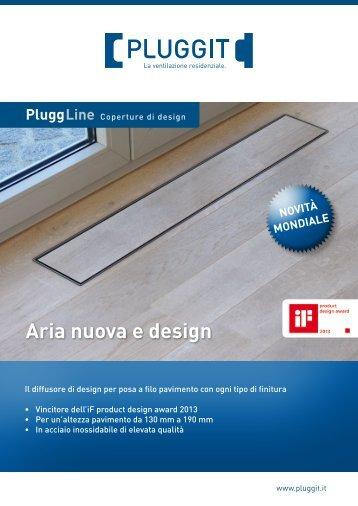 PluggLine Coperture di design - Pluggit