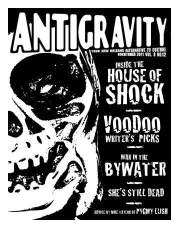 October 2011 (PDF) - Antigravity Magazine