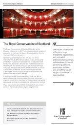 Royal Conservatoire of Scotland.pdf - Universities Scotland