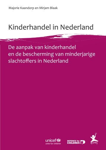 Kinderhandel in Nederland - SiteSpirit