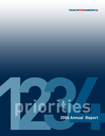 2006 Annual Report - GiveWell
