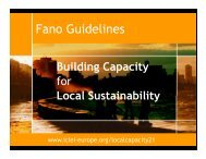 Fano Guidelines - Informed Cities - ICLEI Europe