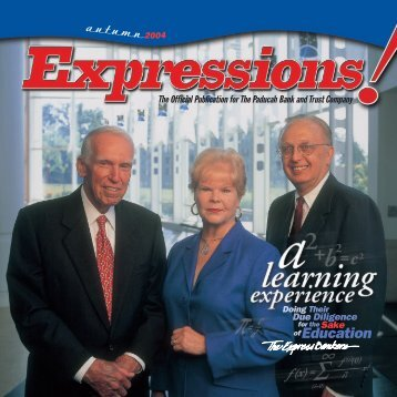 PB express autumn 04 - Paducah Bank