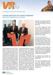 VRinfo - VR-Bank Rhein-Sieg eG