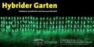 Hybrider Garten - Francesco Mariotti