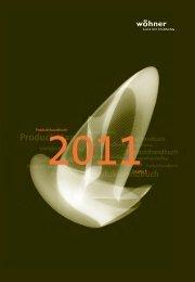Produkthandbuch 2011Deutsch