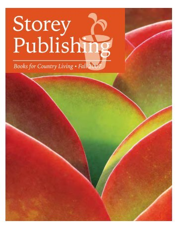 Books for Country Living• Fall 2007 - Workman Publishing