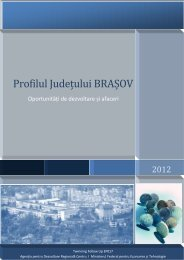 Profil judetul Brasov - ADR Centru