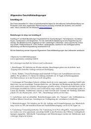 Allgemeine Geschäftsbedingungen bowldog.ch - Rent-a-Shop