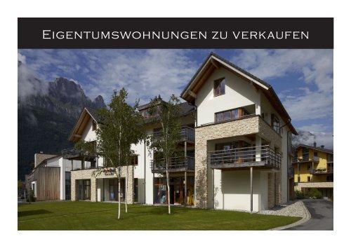Eigentumswohnungen zu verkaufen - Resort Walensee