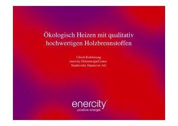 Heizwert pro Kilogramm - Grüne in der Region Hannover