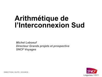 Consulter la présentation de Michel LEBOEUF, directeur Grands ...