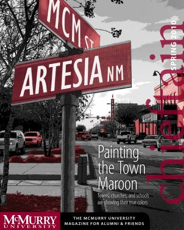 Painting the Town Maroon - McMurry University